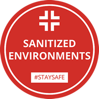 Ambienti sanificati | Sanitized environments